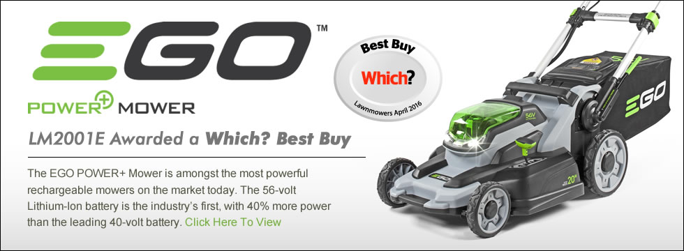 Ego LM2001EKIT Power+ Cordless Lawn Mower Which Best Lawn Mower 2016 Banner
